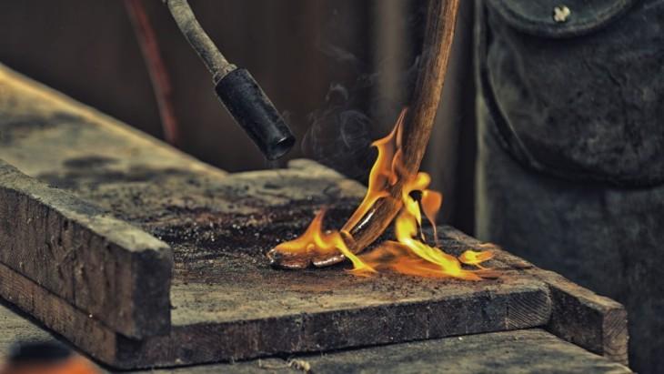8   Bogen  Tuning durch Brennen und Recurve biegen