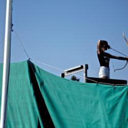 Bogenschießen bei Youksakka – 25