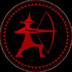 Abzeichen Youksakka Rot
