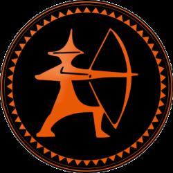 Abzeichen Youksakka Orange
