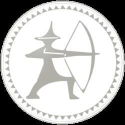 Abzeichen Youksakka Weiß für Anfänger